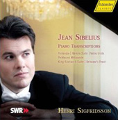 Sibelius: Piano Transcriptions / Sigfridsson