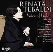 Renata Tebaldi - Voice of Gold - Puccini, Verdi, Cilea, etc