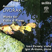 Dvorak: Works for Violin and Piano / Ivan Zenaty, Igor Ardasev