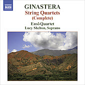 Ginastera: String Quartet no 1, 2 & 3 / Enso Quartet