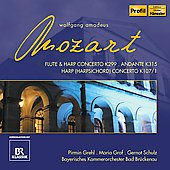 Mozart: Concertos for Flute & Harp