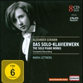 Alexander Scriabin: The Complete Solo Piano Works [8CDs+DVD] / Maria Lettberg, piano