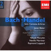 Bach, Handel: Solo Cantatas & Arias