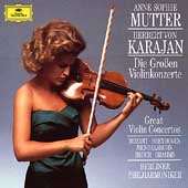 Great Violin Concertos / Mutter, Karajan, Berlin PO