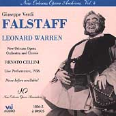 New Orleans Opera Archives Vol 4 - Verdi: Falstaff