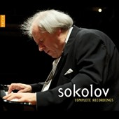 Grigory Sokolov: Complete Recordings / Bach, Beethoven, Schubert, Brahms, et al