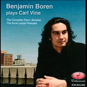 Benjamin Boren plays Carl Vine