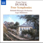 Franz Xaver Dussek: 4 Symphonies / Helsinki Baroque Orchestra
