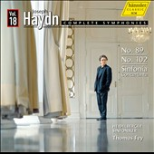 Haydn: Complete Symphonies, Vol. 18 - Symphonies nos 89 & 102; Sinfonia Concertante / Thomas Fey