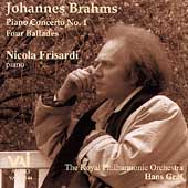 Brahms: Piano Concerto no 1, Ballades Opus 10 / Frisardi