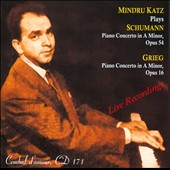 Schumann: Piano Concerto in A minor, Op. 54; Grieg: Piano Concerto in A minor, Op. 16