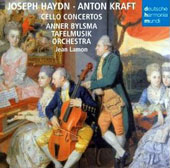 Joseph Haydn, Anton Kraft: Cello Concertos