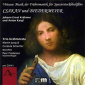 Csakan und Biedermeier: Virtuoso romantic works for recorder and keyboard / Martin Jung & Cordula Schertler, recorders