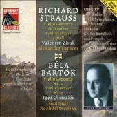 Richard Strauss: Violin Concerto in D minor; Béla Bartók: Violin Concerto No. 1