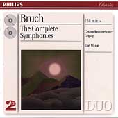 Bruch: The Complete Symphonies / Masur, Gewandhaus Leipzig