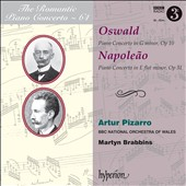 The Romantic Piano Concerto, Vol. 64: Oswald, Napoleao