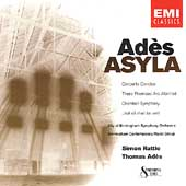 Adès: Asyla, These Premises Are Alarmed, etc / Rattle, etc