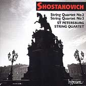 Shostakovich: String Quartets no 2 & 3 / St Petersburg