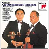 Mozart: Sinfonia Concertante, Concertone / Lin, Laredo