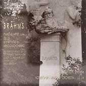 Brahms: Piano Quartet, etc / Lu Jia, Norrköping SO
