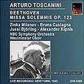Beethoven: Missa Solemnis / Toscanini, Milanov, Bjoerling