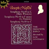 Haydn: Symphonies no 48-50 / Roy Goodman, Hanover Band