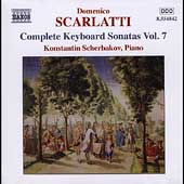 D. Scarlatti: Complete Keyboard Sonatas Vol 7 / Scherbakov