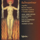 Schwantner: Angelfire, etc / Litton, Meyers, Hustis, et al