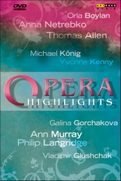 Opera Highlights Vol. 2 / Netrebko, Allen, Murray, Langridge, Kenny, et al [DVD]