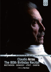 Claudio Arrau: The 80th Birthday Recital / Beethoven, Debussy, Liszt & Chopin [DVD]