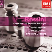 Gemini - Rossini: Overtures / Beecham, et al