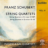 Schubert: String Quartets Vol 3 / Mandelring Quartett