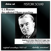 E. J. Moeran - The Collected 78 RPM Recordings