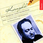 Korngold: Lieder des Abshieds, etc / Downes, Finnie