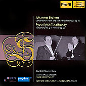 Brahms, Tchaikovsky: Concertos for Violin /  Oistrakh, et al