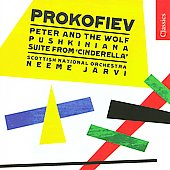 Classics - Prokofiev: Peter & the Wolf, Cinderella Suite, etc / Neeme J&auml;rvi, Scottish NO