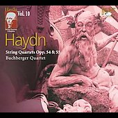 Haydn: String Quartets Op 54 & 55 - Vol 10 / Buchberger String Quartet