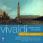 Vivaldi: The Four Seasons / Elizabeth Wallfisch, baroque violin; Australian Brandenburg Orchestra; Dyer