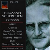 Hermann Scherchen conducts Weber, Liszt