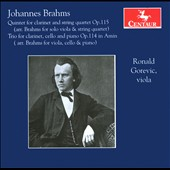 Johannes Brahms: Clarinet Quintet;Clarinet Trio