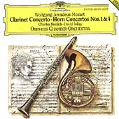 Mozart: Clarinet Concerto, Horn Concertos 1 & 4 / Orpheus CO
