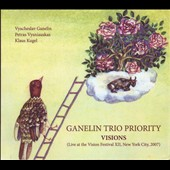 Ganelin Trio Priority: Visions: Live at the Vision Festival 12 New York City 2007 [Digipak]