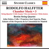 Halffter: Chamber Music Vol 3 / Madrid Community Orchestra Soloists