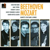 Beethoven & Mozart: Quintets for Piano and Winds / Manz, Trenel, Schuch, Alonso, Quero