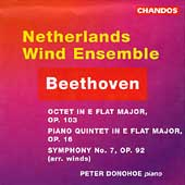 Beethoven: Symphony no 7, etc / Donohoe, Netherlands Wind En