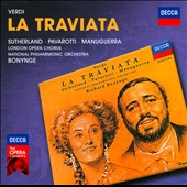 Giuseppe Verdi: La Traviata / Joan Sutherland, Luciano Pavarotti, Matteo Manuguerra, Della Jones and Marjon Lambriks
