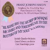 Haydn: Symphony no 51, Piano Concerto in G, etc / Schwarz