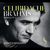 Brahms: Symphony No. 1 / Sergiu Celibidache, Vienna SO