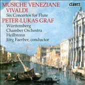 Antonio Vivaldi: Six Concertos for Flute / Peter Lukas Graf, flute; Jorg Faerber