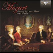 Mozart: Concertos for 2 and 3 Pianos; Concert Rondos / Zoltan Kocsis; Dezso Ranki, pianos. Schiff